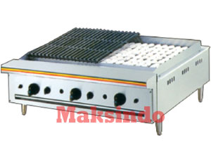 mesin pemanggang griddle 8
